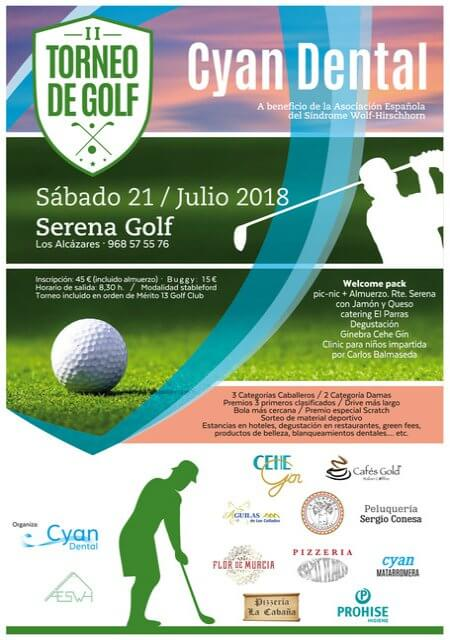 II Torneo Golf Cyan Dental (Murcia) - Julio 2018