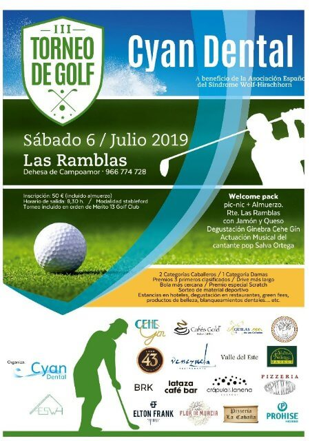 III Torneo de Golf Cyan Dental - Orihuela (Alicante)