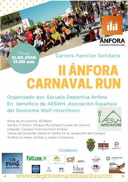 II Anfora Carnaval Run - Febrero 2018