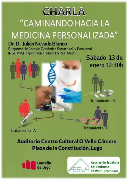 Charla del Dr. Julián Nevado en Lugo - Enero 2018