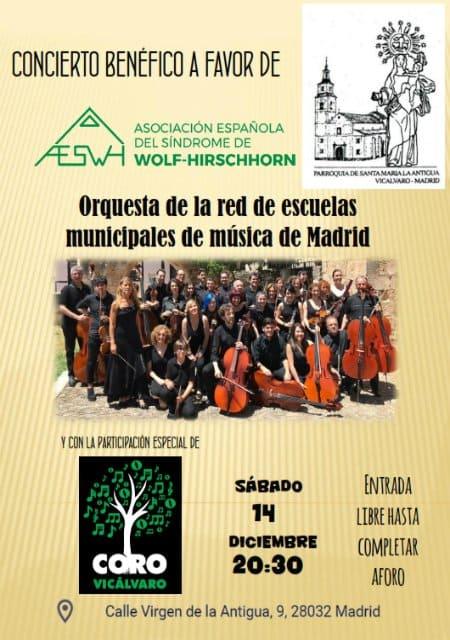 Concierto Benéfico por el SWH - Madrid
