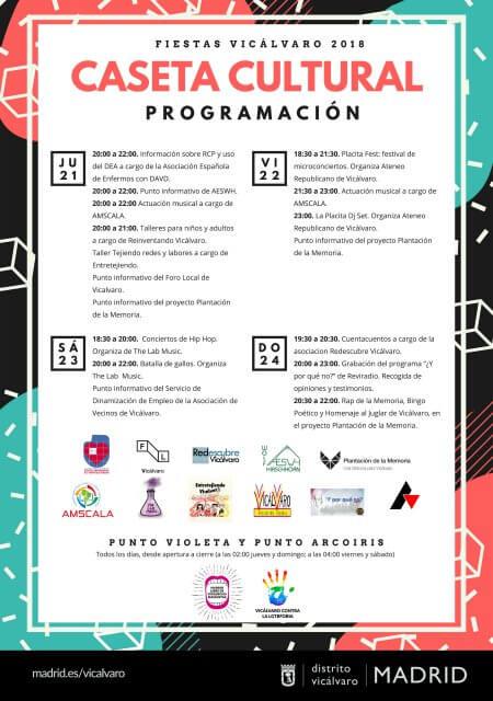 Fiestas Vicálvaro - Junio 2018