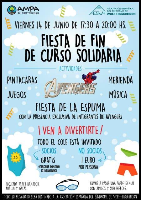 Fiesta Fin de Curso Solidaria - CEIP Vicálvaro
