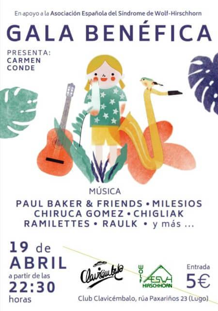 Gala Benéfica en Sala Clavicémbalo (Lugo) - Abril 2018