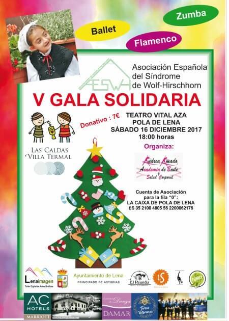 V Gala Solidaria en Pola de Lena (Asturias) - Diciembre 2017