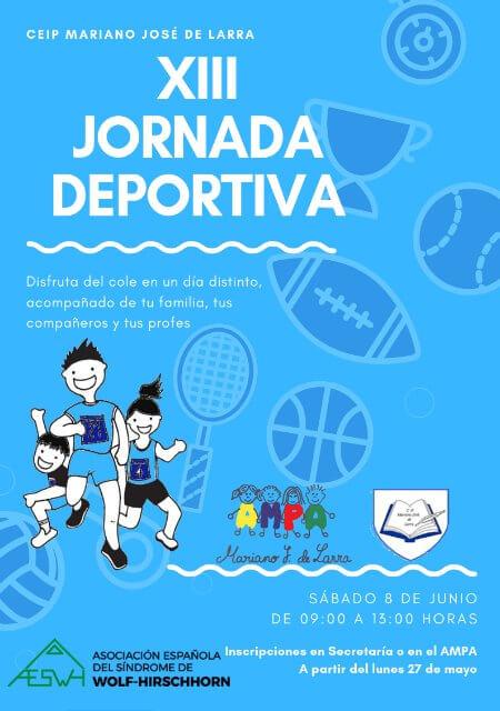 XIII Jornada Deportiva - CEIP Mariano José de Larra