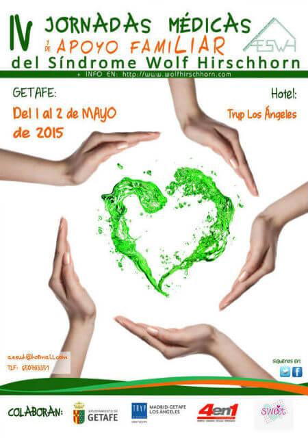 IV Jornadas Médicas y de Apoyo Familiar del SWH - Mayo 2015