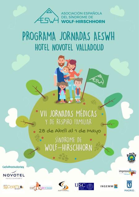 VII Jornadas Médicas y de Respiro Familiar AESWH - Abril 2018