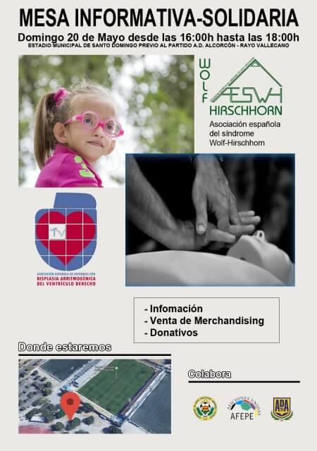 Mesa Informativa en Alcorcón - Mayo 2018