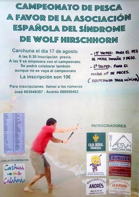 I Campeonato de Pesca a favor de la AESWH - Carchuna (Granada)