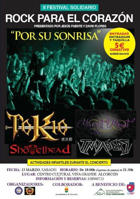 """II FESTIVAL SOLIDARIO """"Rock para el Corazón"""" - Marzo 2019"""