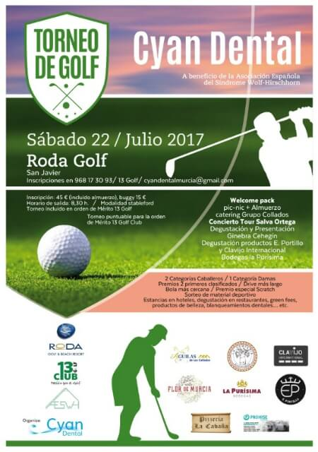 Torneo de Golf Cyan Dental - Julio 2017
