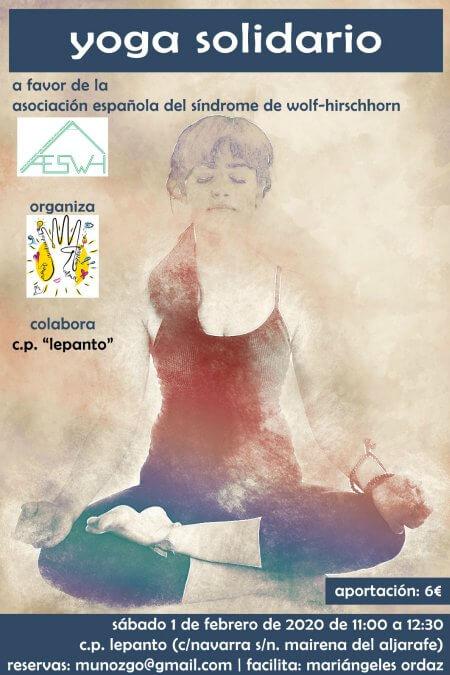 Yoga Solidario a favor de la AESWH - Mairena del Aljarafe