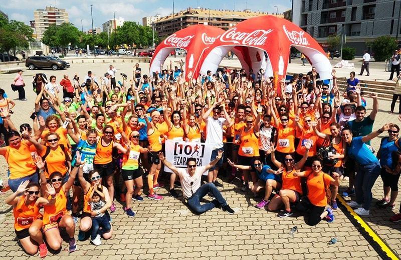 El 10k Club Zaragoza vuelve a colaborar con la AESWH