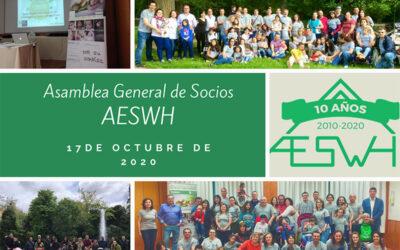 El 17 de octubre hemos celebrado nuestra Asamblea General de socios de la AESWH