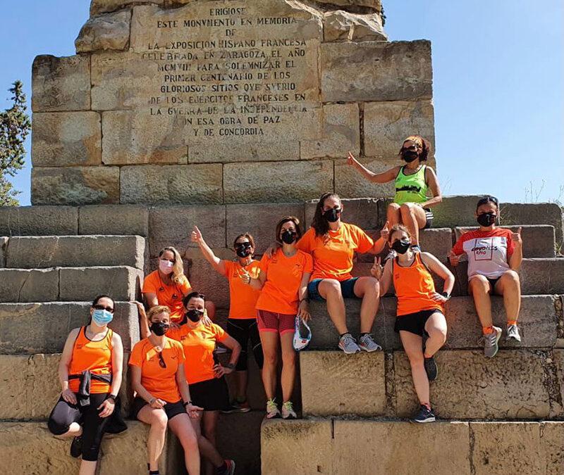 Solidaridad con la AESWH de las voluntarias 10K Zaragoza