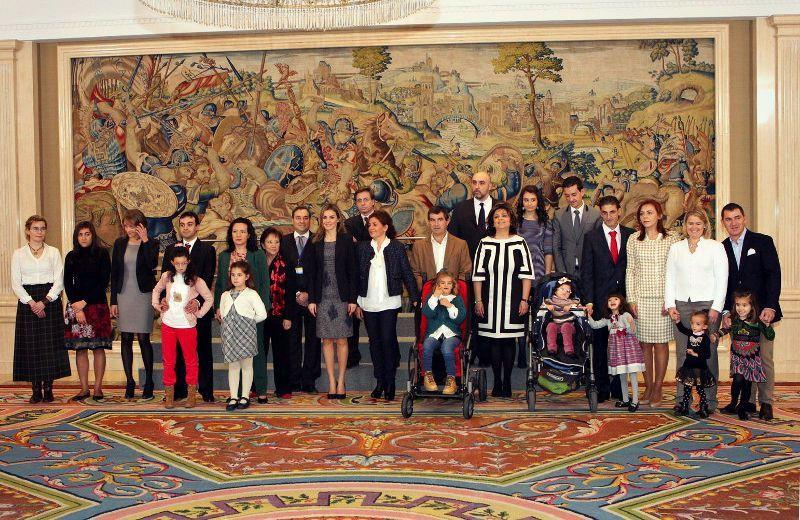 Presentación Institucional de la AESWH ante SAR Doña Letizia