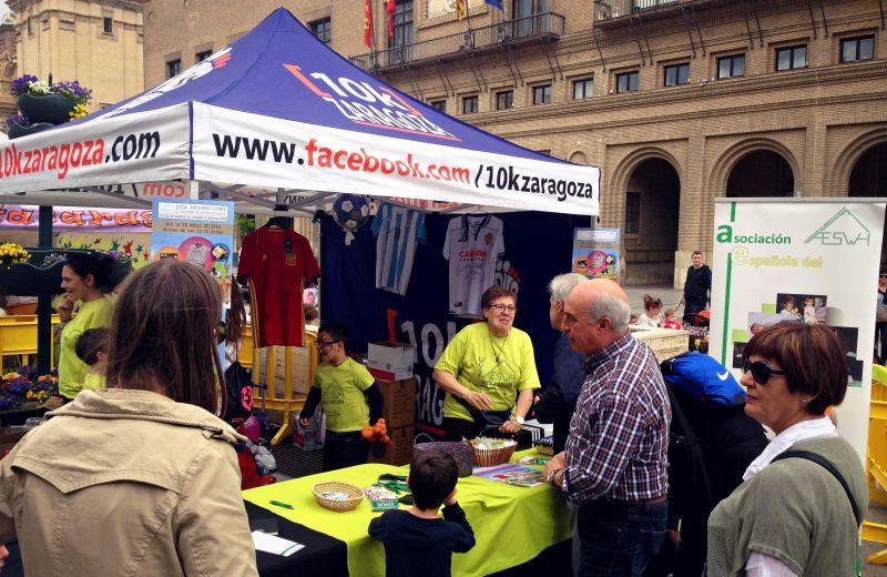 II Edición del Día Internacional del SWH en la Plaza del Pilar de Zaragoza