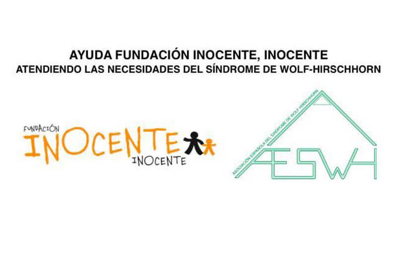 """Abierta la convocatoria de ayudas de la Fundación """"Inocente, Inocente"""" para familias de la AESWH"""