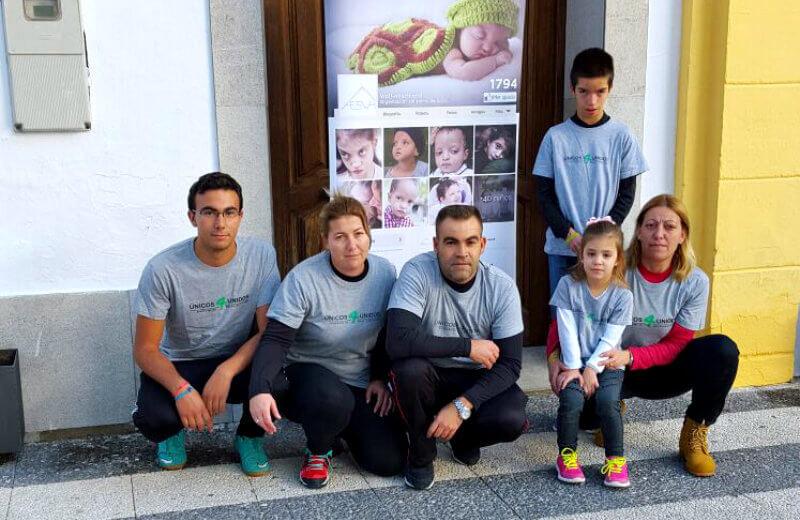 Carrera solidaria en Jayena (Granada)