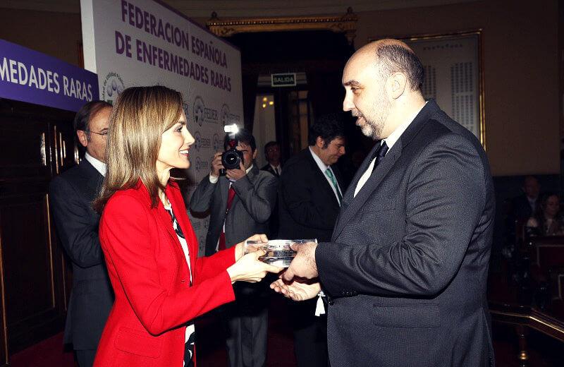 El Dr. Cobaleda, premio FEDER 2015 a la investigación en enfermedades raras