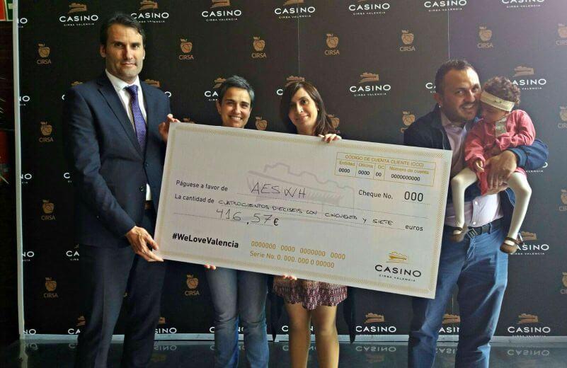 El Casino Cirsa de Valencia, con la AESWH
