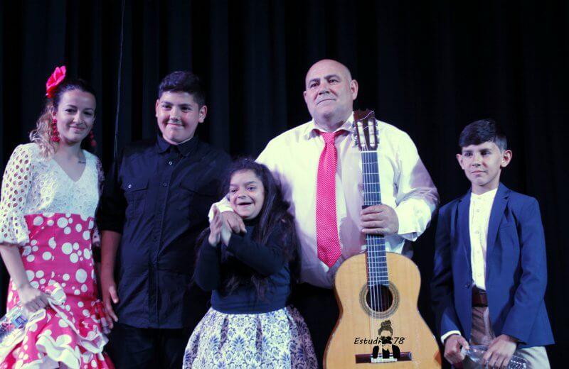 Flamenco Solidario a favor de la AESWH