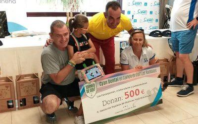 III Torneo Cyan Dental a favor de la AESWH