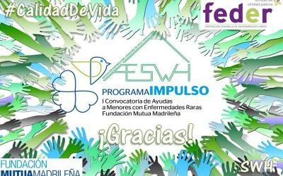 Familias de la AESWH participan en el Programa Impulso Fundación Mutua Madrileña 2019