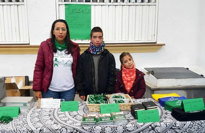 III Ruta Solidaria en favor de la AESWH en Jayena