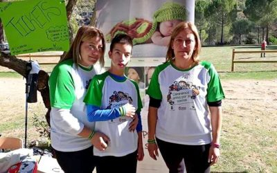 Ruta Solidaria en Jayena a favor de la AESWH