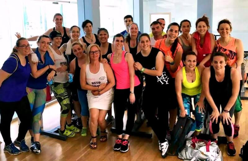MasterClass de Zumba y Ciclo Indoor solidario a favor de la AESWH