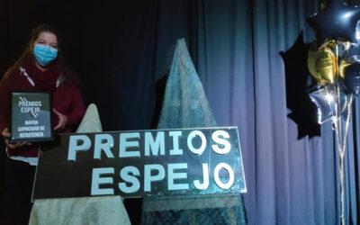 La AESWH premiada en la 3ª Edición Premios Espejo