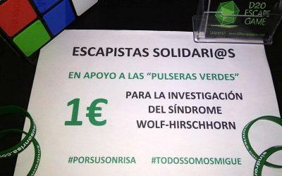 Visibilidad del SWH con D20 Escape Game Málaga en PTV Málaga