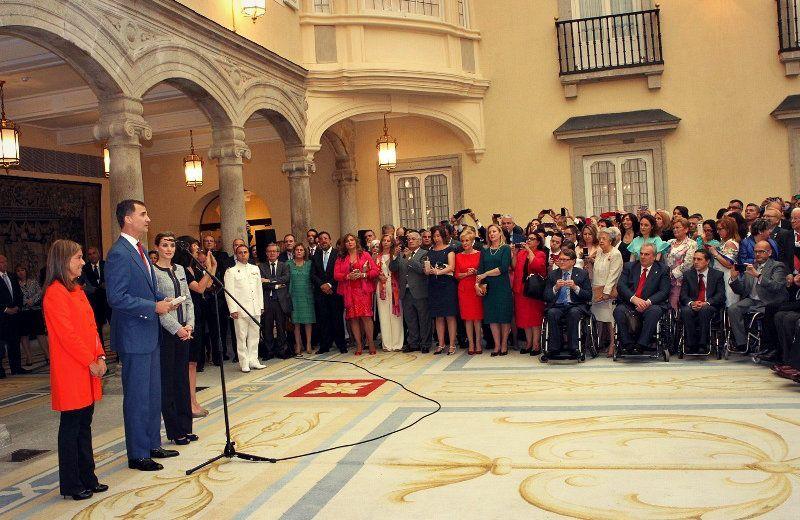La AESWH en la recepción de SS.MM. a representantes de entidades de solidaridad social