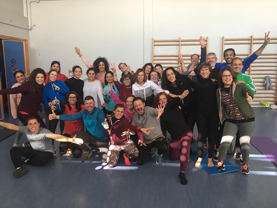 Risoterapia y Yoga Solidaria a favor de la AESWH