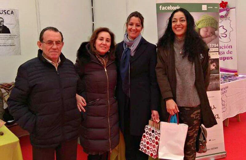 Lugo muestra su lado más solidario con la AESWH en Diversiarte