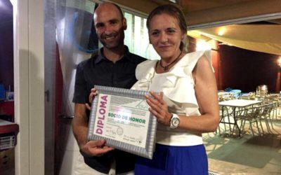 El ciclista Buenaventura Claramunt, nombrado socio de honor de la AESWH